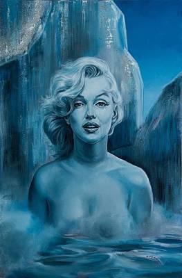 Metamorphosis Of The Diva Original by Evelyn Astegno