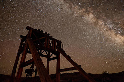 Mining Photograph - Meteor At Bodie by Cat Connor