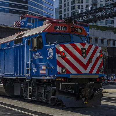 Metra F40's Print by Thomas Visintainer
