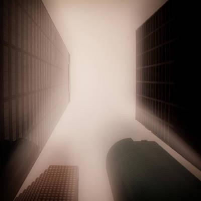 Menacing Photograph - Metropolis by Dave Bowman