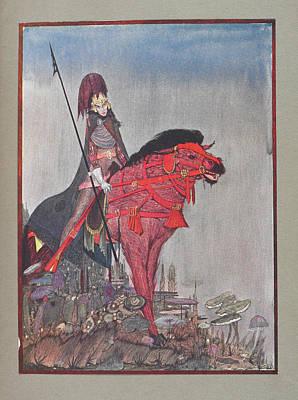 Edgar Allan Poe Photograph - Metzengertstein by British Library
