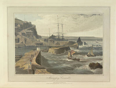Mevagissy Print by British Library