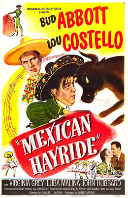 Mexican Hayride, Us Poster, From Top Print by Everett