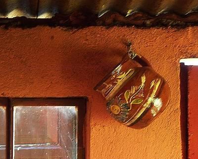 Mexican Pottery Original by Joy Nichols