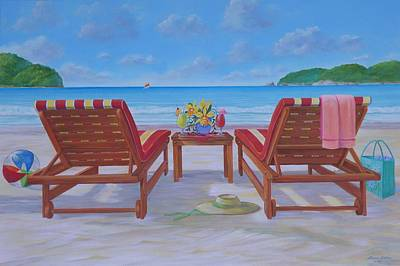 Mexican Riviera Original by Bonnie Golden