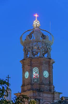 Iglesia Photograph - Mexico, Jalisco, Puerto Vallarta by Rob Tilley