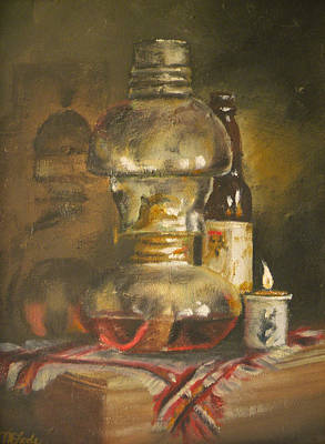 Beer Oil Painting - Mexico by Mia DeLode