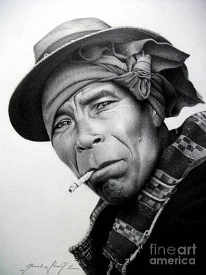 Portraits Drawing - Mexico by Miro Gradinscak