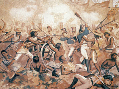 Las Cruces Painting - Mexico Uprising, 1810 by Granger