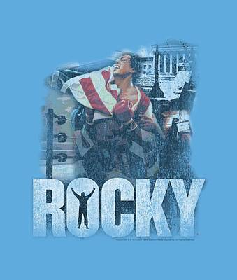 Boxer Digital Art - Mgm - Rocky - The Champion by Brand A