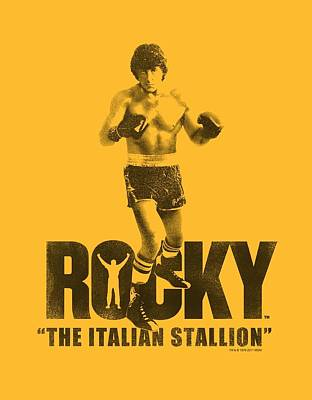 Boxer Digital Art - Mgm - Rocky - The Italian Stallion by Brand A