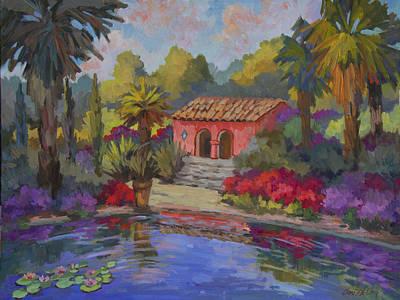 Homestead Painting - Mi Casa Es Su Casa by Diane McClary