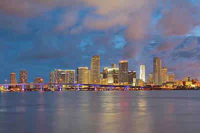 Photograph - Miami - The Magic City by Claudia Domenig