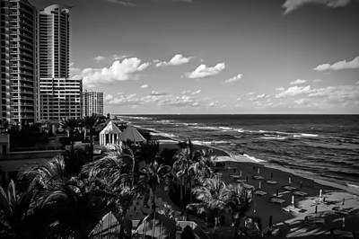 Miami Art Deco District Print by Michael Rigamer