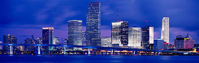 Miami, Florida, Usa Print by Panoramic Images