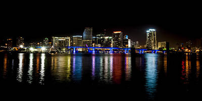Miami Skyline Photograph - Miami Skyline by Scott Mullin