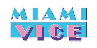 Noir Digital Art - Miami Vice - Logo by Brand A