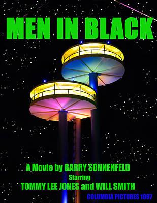 Will Jones Painting - Mib Movie Poster 1997 by David Lee Thompson