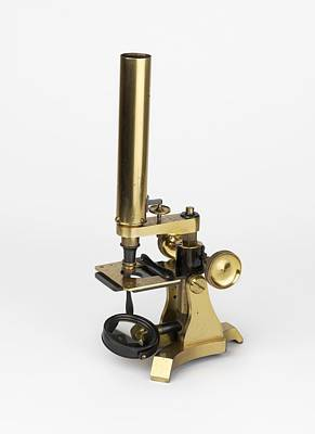 Michael Faraday's Microscope Print by Science Photo Library