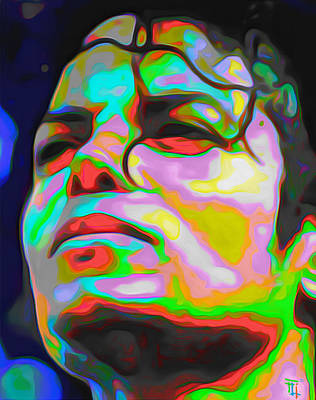 Michael Jackson Original by  Fli Art