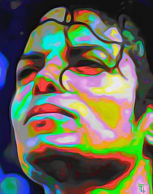 Michael Jackson Digital Art - Michael Jackson by  Fli Art