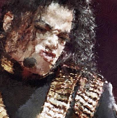 Michael Jackson Digital Art - Michael Jackson Concert 1 by Yury Malkov