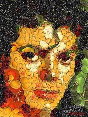 Michael Jackson Digital Art - Michael Jackson In The Way Of Arcimboldo by Dragica  Micki Fortuna