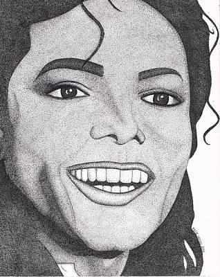 Michael Jackson Print by Marie Wern