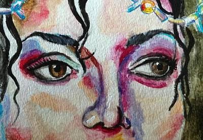 Michaeljackson Painting - Michael Jackson by Shelby Rawlusyk