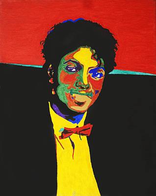 Michael Jackson Print by Stormm Bradshaw