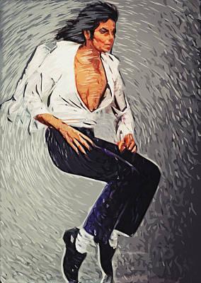 Michael Jackson Print by Taylan Soyturk