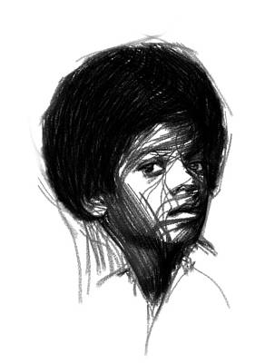 Michael Jackson Drawing - Michael Jackson- The Early Years by Stefan Kuhn