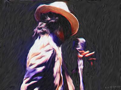 Jackson 5 Digital Art - Michael Jackson by Tyler Watts KyddCo