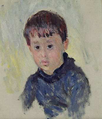 Youth Painting - Michel Monet by Claude Monet