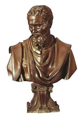 Michelangelo 1475-1564. Italian Print by Everett