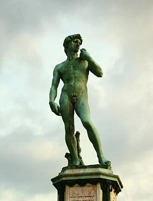 Michelangelo's David 2 Print by Ellen Henneke