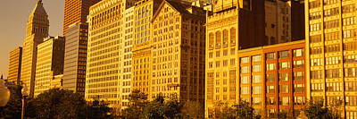 Michigan Avenue Architecture, Chicago Print by Panoramic Images