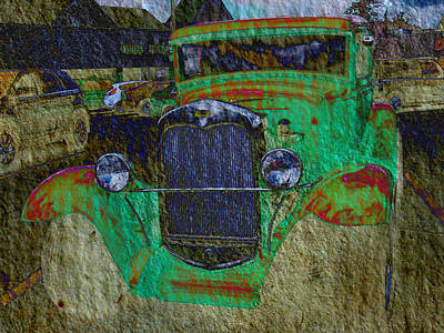 Mj Photograph - Michigan Coupe by MJ Olsen