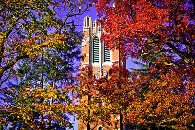 Michigan State University Beaumont Tower Print by John McGraw