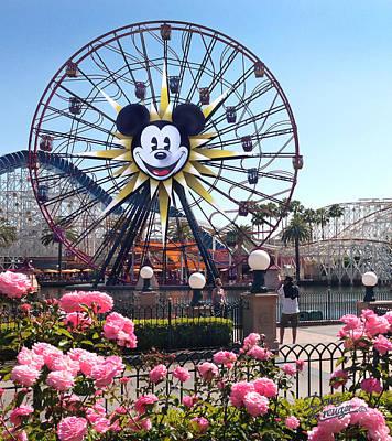 Mickey's Fun Wheel Print by Doug Kreuger