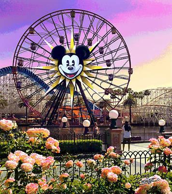 Mickey's Fun Wheel II Print by Doug Kreuger