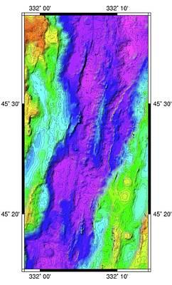 Mid-atlantic Ridge Print by B. Murton/southampton Oceanography Centre