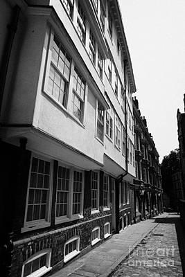 middle temple lane London England UK Print by Joe Fox