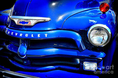 Midnight Chevrolet  Print by Olivier Le Queinec