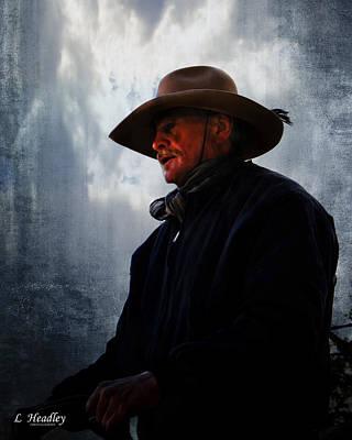 Midnight Cowboy Print by Larry Headley
