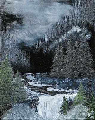 Midnight Falls Print by Dave Atkins
