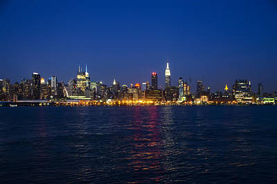 Nyc Digital Art - Midtown Manhattan Skyline View by Bill Cannon