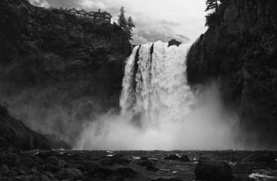 Mighty Snoqualmie Print by Mark Kiver