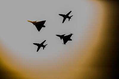 Hawk Mk 120 Photograph - Mighty Sun Strike  by Paul Job