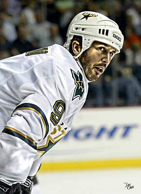 Mike Modano Original by Don Olea